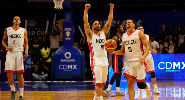 ¡Histórico! México derrotó por segunda vez en la historia a Estados Unidos en basquetbol