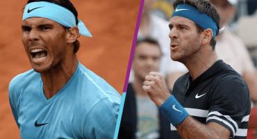 ¡Juegazo! Rafa Nadal se enfrentará a Del Potro en el Roland Garros