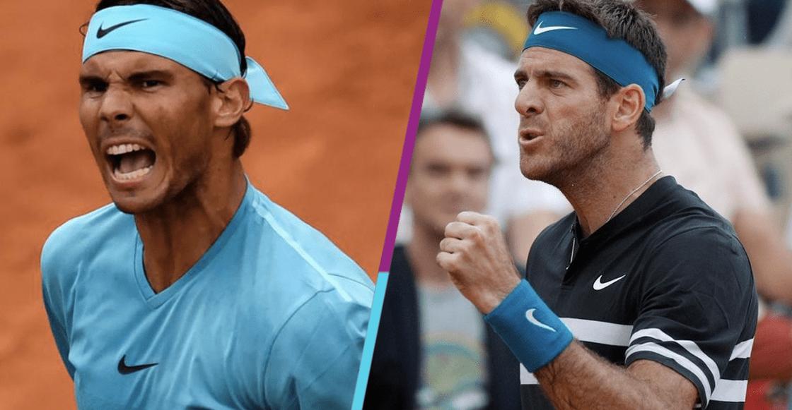 Rafa Nadal se enfrentará a Del Potro en el Roland Garros