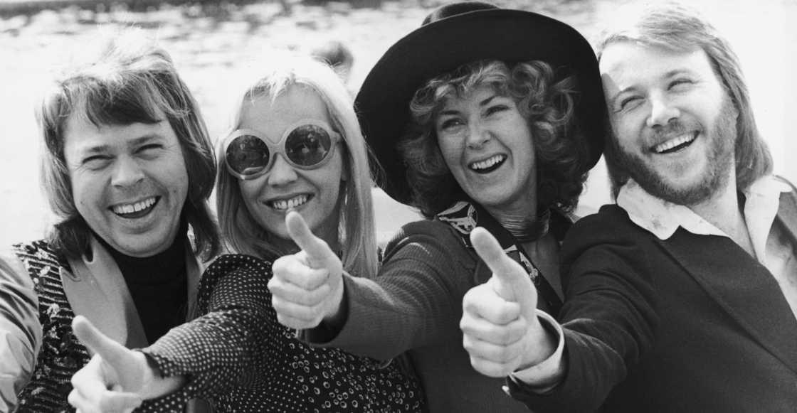 OMG! ABBA comparte su primera foto de reunión en el estudio