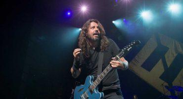 The Sky is a Neightborhood! Un meteorito cayó durante un concierto de Foo Fighters