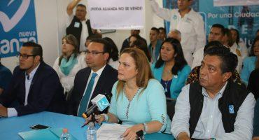 ¡Tssss! Nueva Alianza pide que le retiren la candidatura a Purificación Carpinteyro