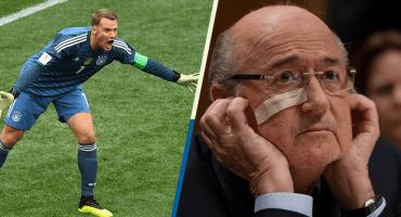 ¡Oilo! Blatter dice que México no le hizo más goles a Alemania por miedo a Neuer
