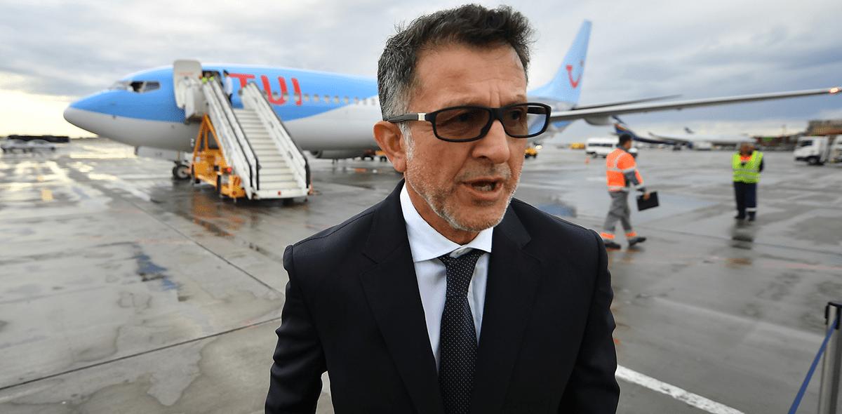 La llegada de la Selección Mexicana a Rusia