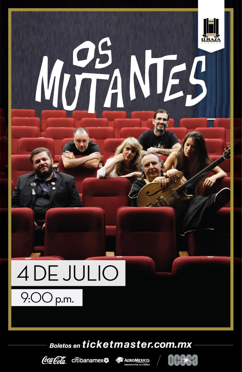 Os Mutantes en El Plaza Condesa
