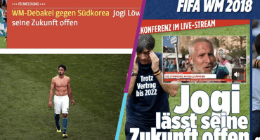 La prensa alemana destroza a la 'Mannschaft' tras el horror de Rusia