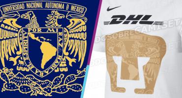 El escudo de la Universidad Nacional en la nueva piel de Pumas