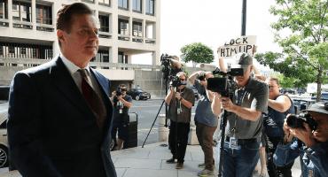 ¡Pum! Ordenan prisión para exjefe de campaña de Trump