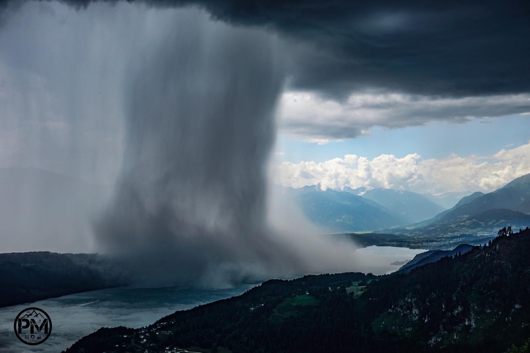 """Captan """"tsunami del cielo"""""""