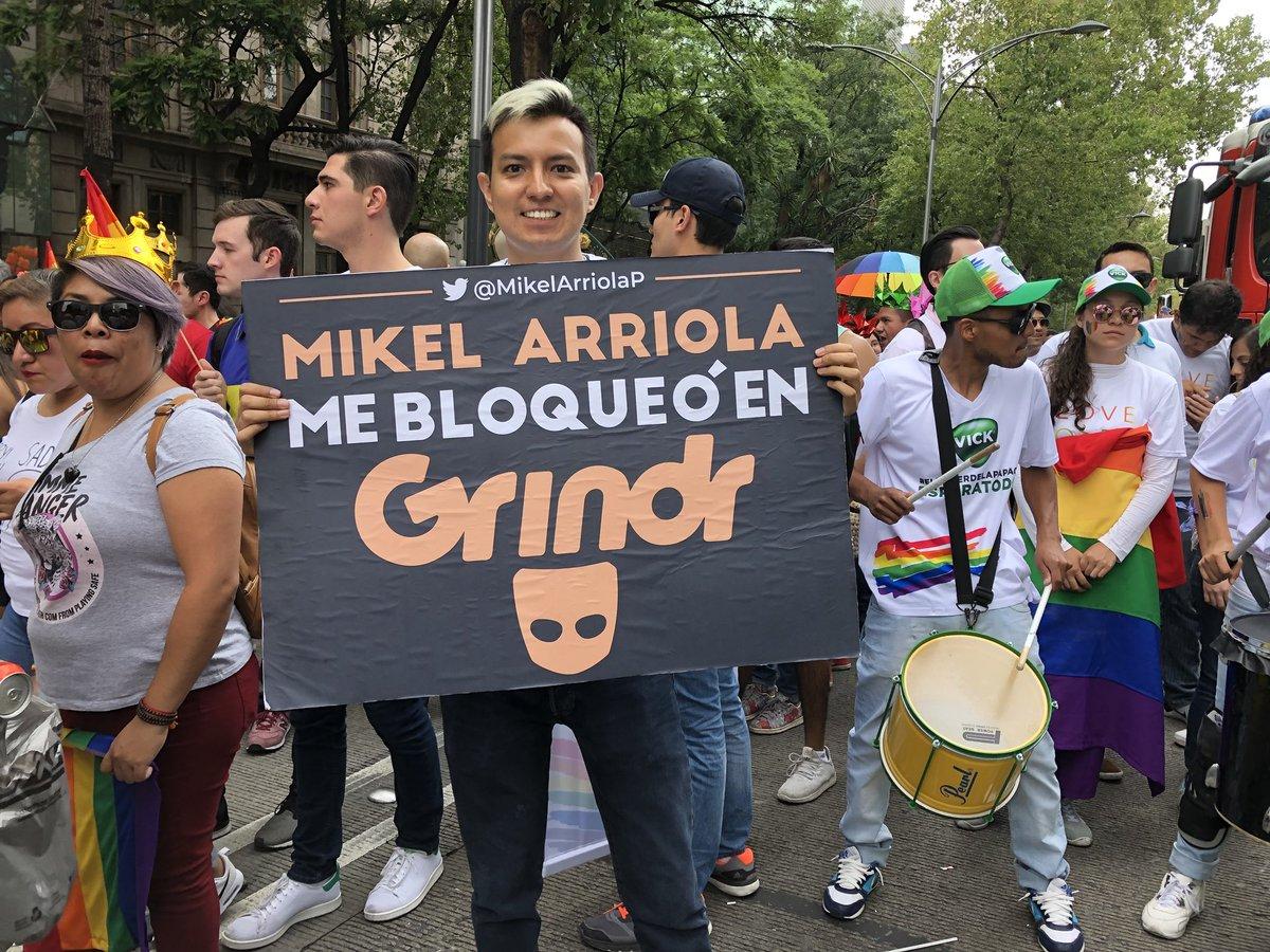 Pride dedicatoria Mikel Arriola