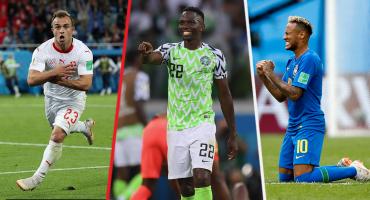 Resumen Mundialista, Día 9: Agónico triunfo de Brasil y Nigeria revive a Argentina