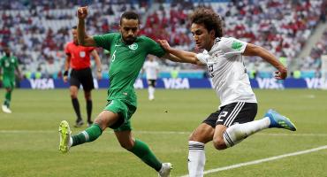 24 años después, Arabia Saudita ganó en un Mundial al derrotar a Egipto