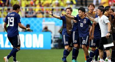 Japón venció a Colombia en Rusia 2018