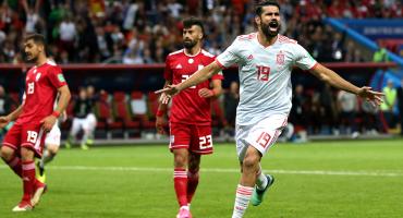 ¡UFFF! España apenas pudo con Irán y es líder del Grupo B
