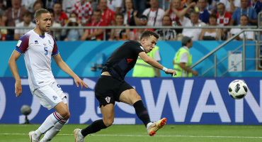 Una Croacia perfecta eliminó a Islandia