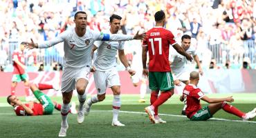 ¡Cristiano y 10 más! Portugal venció por la mínima a Marruecos