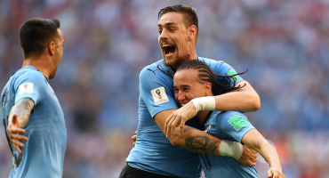 Uruguay goleó a Rusia