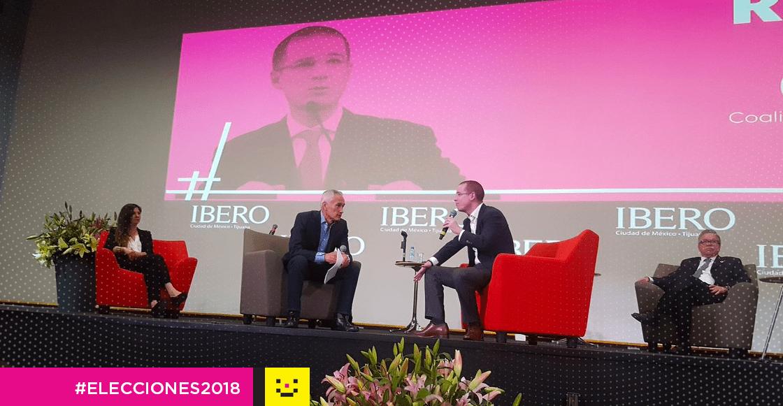 Ricardo Anaya en la Ibero elecciones 2018