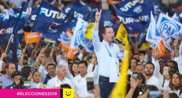 La suerte lo decidió: Anaya abrirá y cerrará el tercer debate presidencial