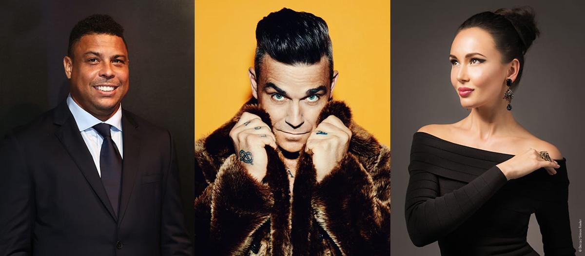 Robbie Williams ceremonia inaugural Rusia 2018