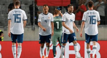 Rusia cerró preparación con empate ante Turquía