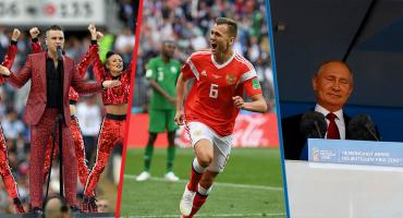 Bermudinsky en el Mundial: El dedo de Robbie Williams y la goleada de Rusia