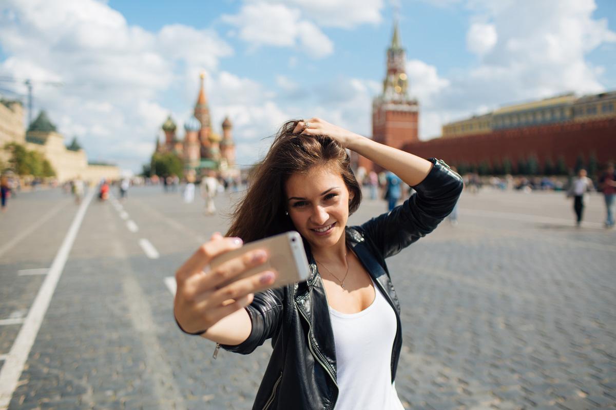 Selfies en rusia