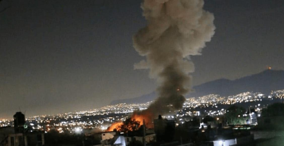 Tultepec explosión taller pirotecnia