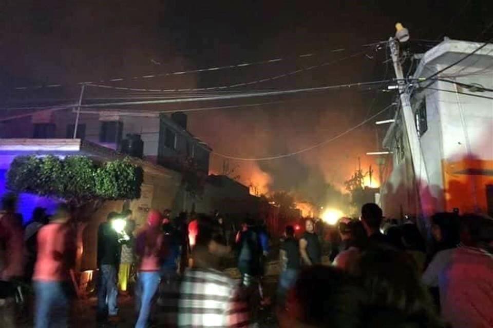 Tultepec explosión