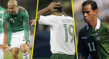 5 'villanos' de la Selección Mexicana que nos hicieron llorar en Mundiales
