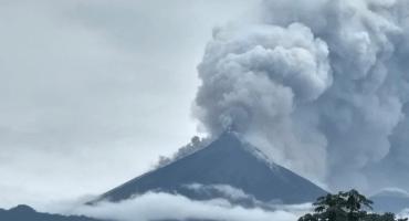 Reparten culpas tras la erupción del Volcán de Fuego en Guatemala