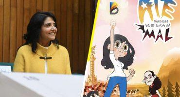 Baia baia: Alejandra Barrales al parecer plagió una caricatura de Disney