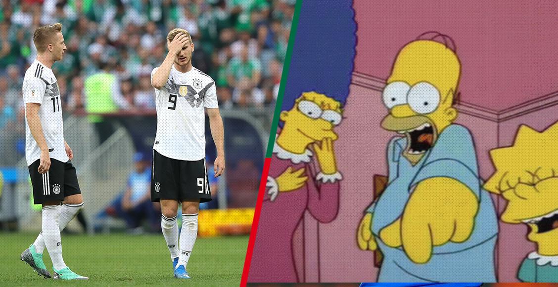 Los alemanes explican las razones de su derrota contra México