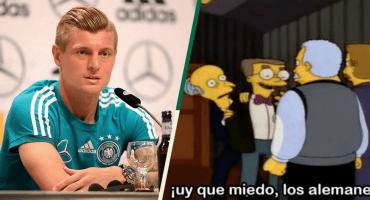 ¡Uuy, los alemanes! Así nos ve Toni Kroos a tres días del anhelado partido