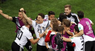 Alemania suspende a integrantes que se pasaron en los festejos contra Suecia