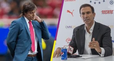 Almeyda se mantiene como técnico de Chivas, garantiza De Anda
