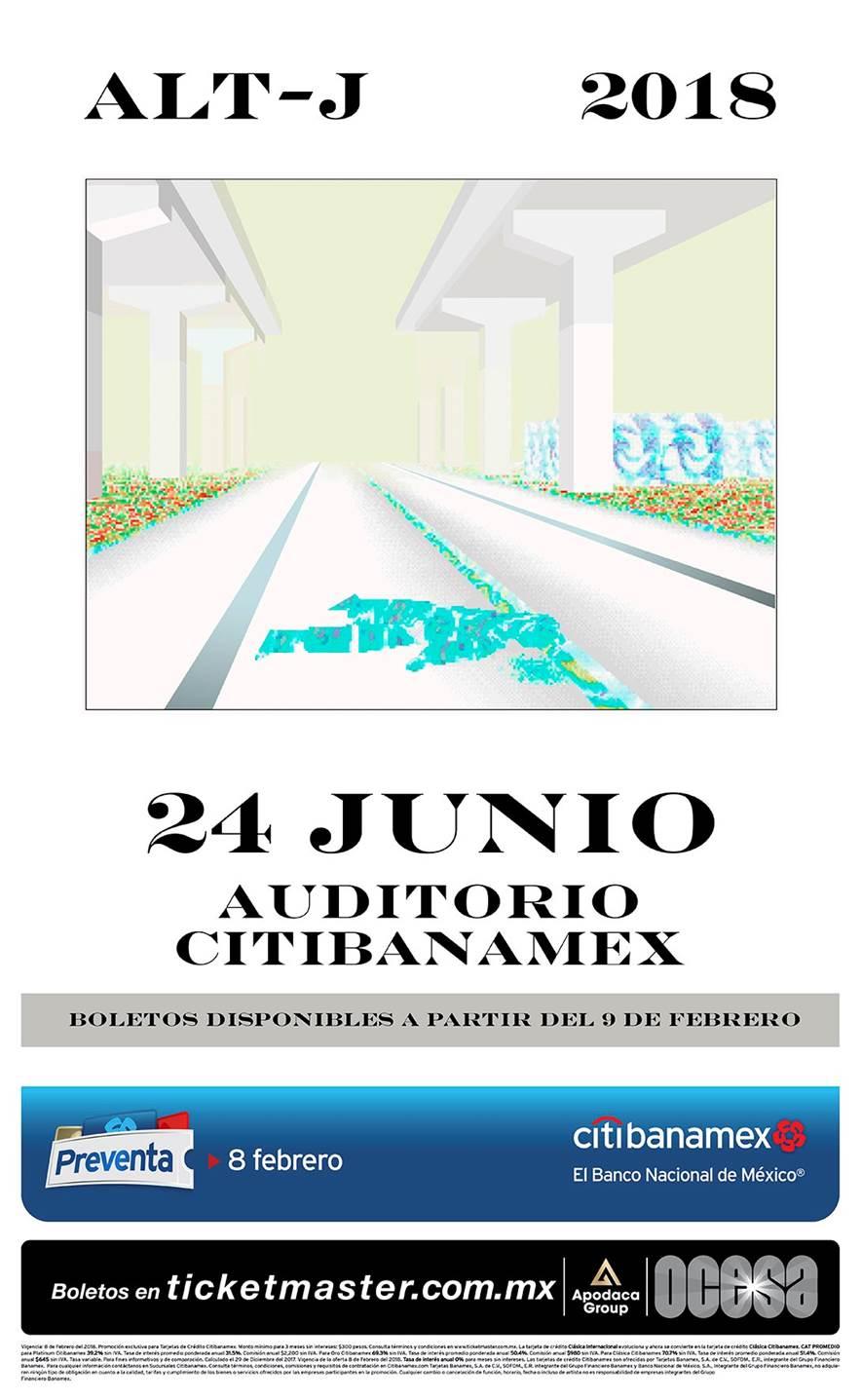 ¡Éntrale cuñao!, que tenemos boletiza para Alt-J en Monterrey