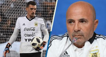 ¿Quién será el portero titular de Argentina contra Nigeria?