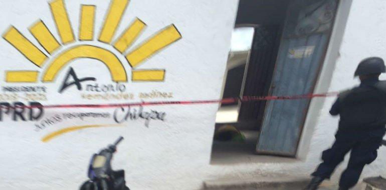 Asesinato de Coordinador PRD, en Chilapa