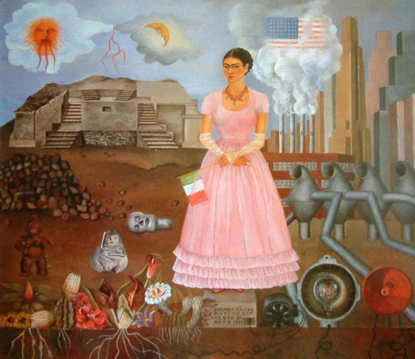 Salma Hayek se viste de Frida