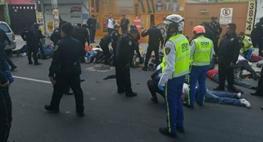 Detenidos, balacera en avenida Tláhuac