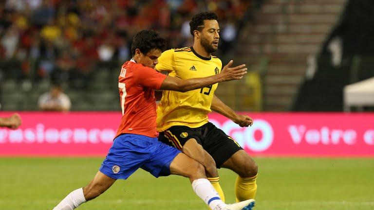 Bélgica golea a Costa Rica 4-1