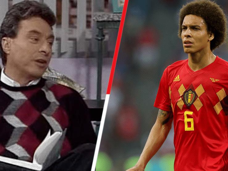 Bélgica y su uniforme a la César Costa