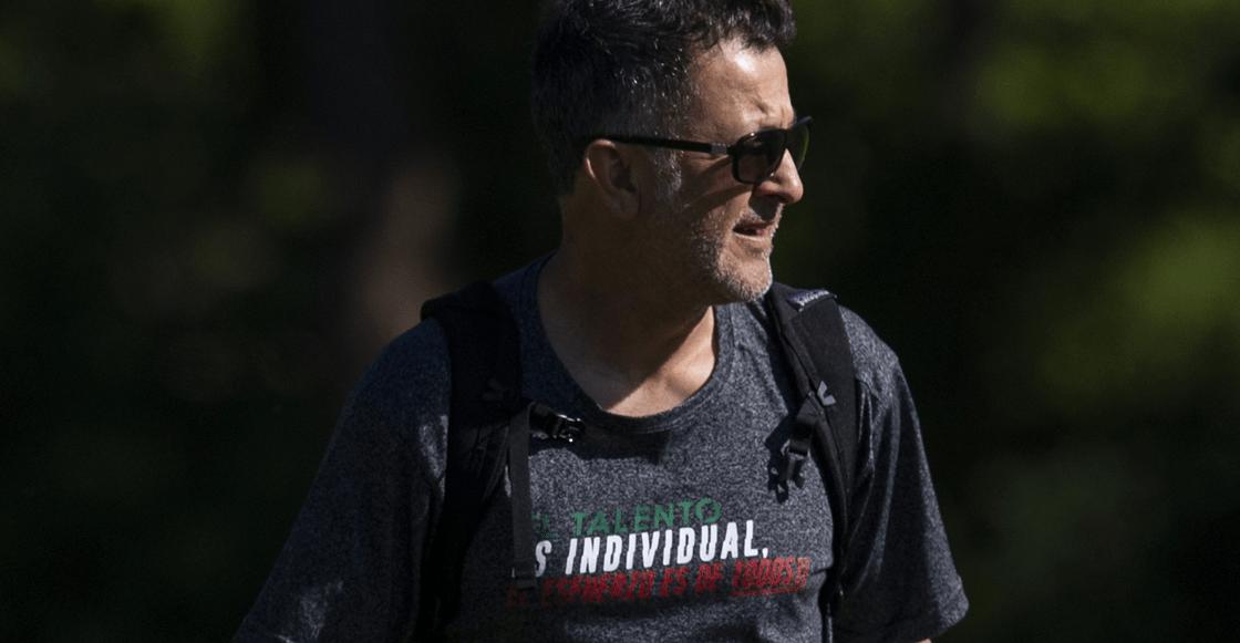 La camiseta de Osorio: 'El Talento es individual, el esfuerzo de todos'