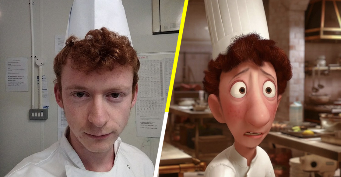 ¿Este chef inglés podría ser el doppelgänger de Linguini de 'Ratatouille'?