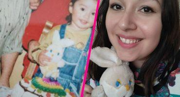 Una chica encontró a su peluche de la infancia luego de muchos años y sí, estamos llorando