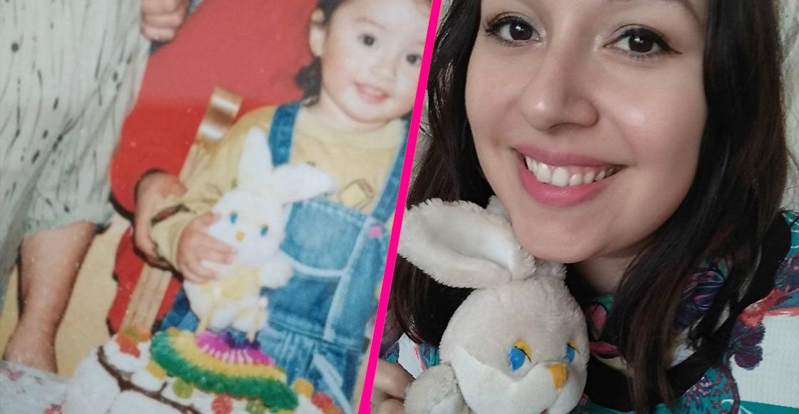 Una chica encontró a su oso de peluche de la infancia luego de muchos años y sí, estamos llorando