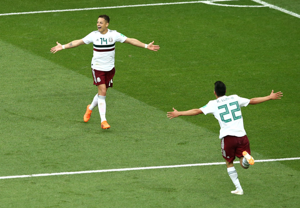 Chicharito anota el Mundial