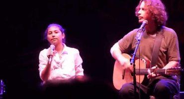 Escucha el cover que Chris Cornell y su hija le hicieron a