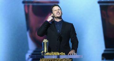 Dios y la popó: Chris Pratt da sus 9 reglas de vida en los MTV Movie Awards